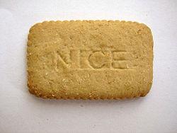 Arnott's Nice Biscuit