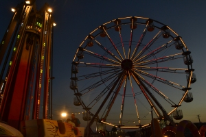 Ferris wheel at Coffs Harbour