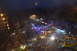 The View from the Ferris wheel.