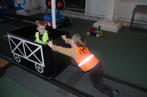The kids in the Nippers' Railway 2007