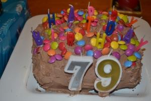 Happy Birthday Kids. The cake made by Mum.