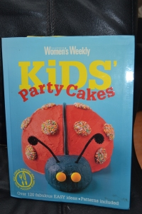 The updated birthday cake book.