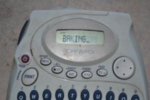 My labeling machine