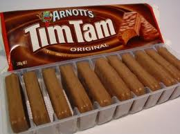 This is an exceptionally rare packet of Tim Tams. The tray isn't empty!!