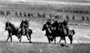 Charge of lighthorse at Beersheba