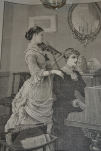 This etching appeared in the London Illustrated News January 6, 1883.