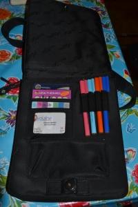 Inside the bag- fabulous organisation!