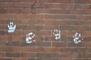 Handprints-  Riley Street, Surry Hills