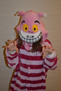 Even the Cheshire Cat was out there!