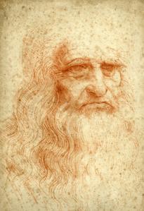 Self-Portrait-Leonardo-da-Vinci