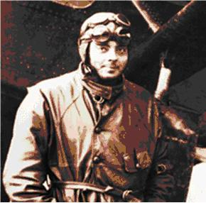 French Pilot and enigmatic writer Antoine de Saint-Exupery.
