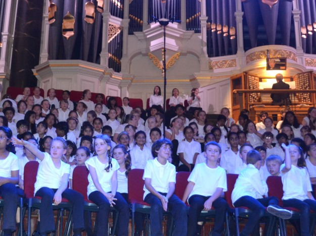 Celebration Sing Out, Sydney Town Hall.