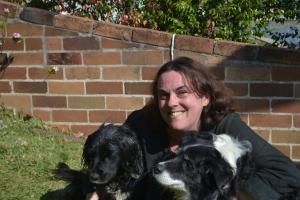 Happy Birthday Daddy xx Bilbo and Lady with Mum.