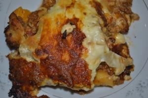 Yummy Happy Birthday Lasagna!