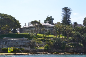Admiralty House,Kirribilli.