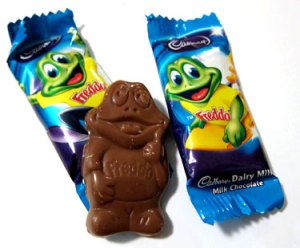 Introducing Australia's very own Freddo Frog.
