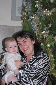 Mummy & Miss Christmas 2006