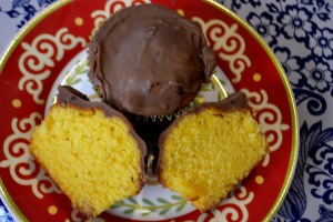 The epitomy of  perfection: my Choc Orange Cupcake.