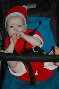 Our daughter's first Christmas 2006 aged 10 months.