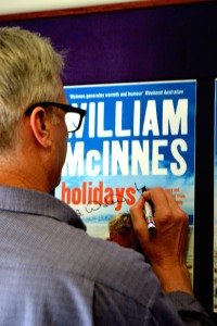 Actor and author William McInnes.