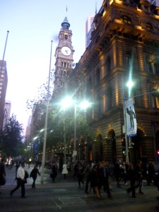 Martin Place at Night