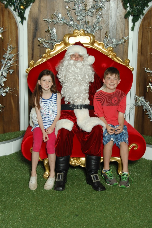 Merry Christmas from Santa and Our Kids.