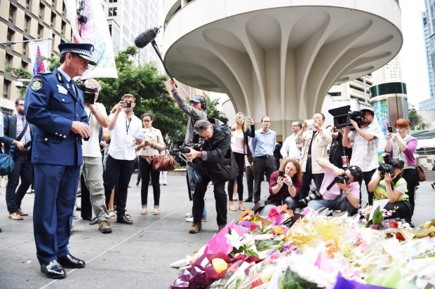 Australians mourn the loss of hostages in the Martin Place Siege. We send their family and friends our heartfelt condolences.