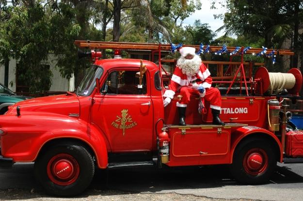 Vintage Ettalong Santa Truck 2008 Pearl Beach