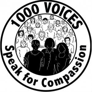 Bloggers Around the World Unite: 1000 Voices Speak for Compassion.
