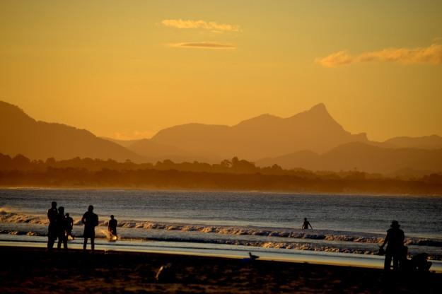 The Sun Set Byron Bay