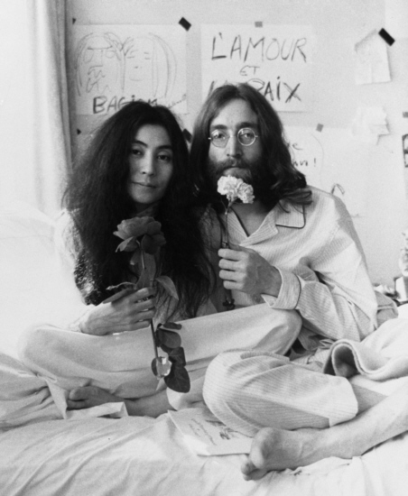 Yoko Ono and John Lennon's message still rings true: Give Peace A Chance. The trouble is how to maintain the peace when there is still so much evil in this world.