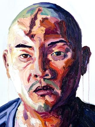 Portrait of Andrew Chan by Myuran Sukumaran.