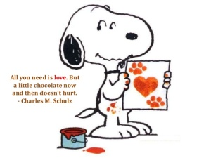 Who can argue with Snoopy?