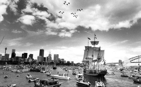 The First Fleet Reenactment, 1988.