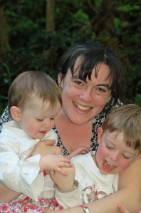 The kids and I taken during my 7 week stint in hospital 2007. Mister was 3.5 and Miss was 18 months old.