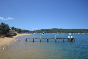 Ettalong Wharf looking towards Booker Bay