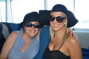 Traveling in style with my absolutely fabulous ferry friend, Emma. Happy Birthday!