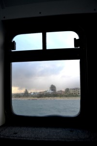 The View through the Window- Palm Beach Ferry.