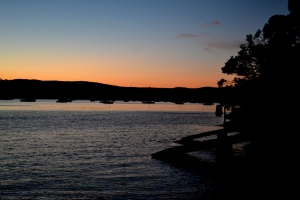 Sunset, Pittwater, Palm Beach.