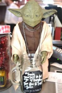 Yoda has relocated to Sydney's Avalon Beach.