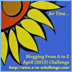 I am participating in the A-Z Challenge.