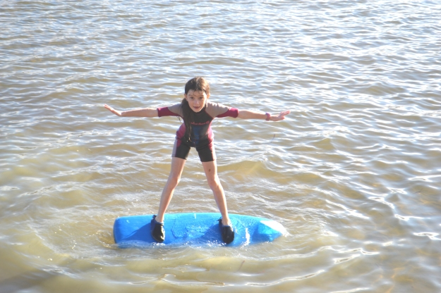 When I was growing up, girls weren't supposed to even surf. There are so, so many things my daughter rightfully takes for granted!