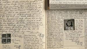 An snapshot of Anne's original diary.
