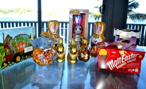 Yum! All that yummy Easter chocolate!