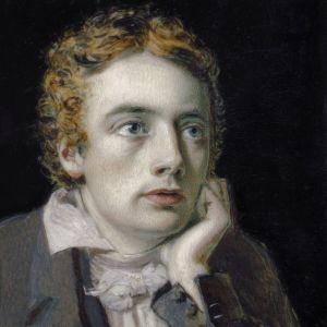 POrtrait of poet John Keat by Severn, 1819.