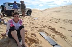 Sandboarding, Stockton Dunes.