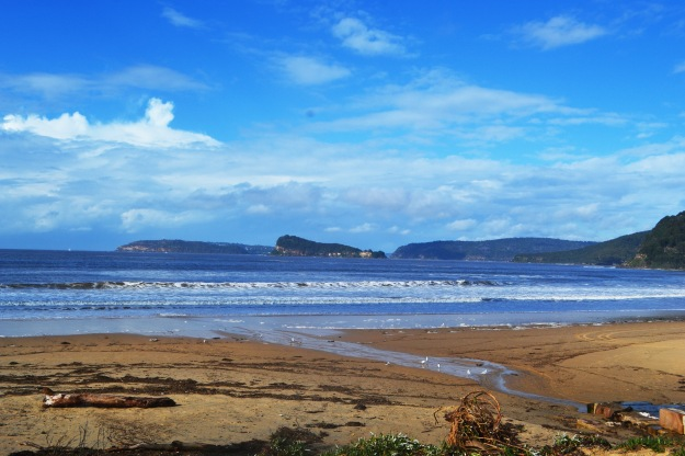 Umina Beach post storm Thurs