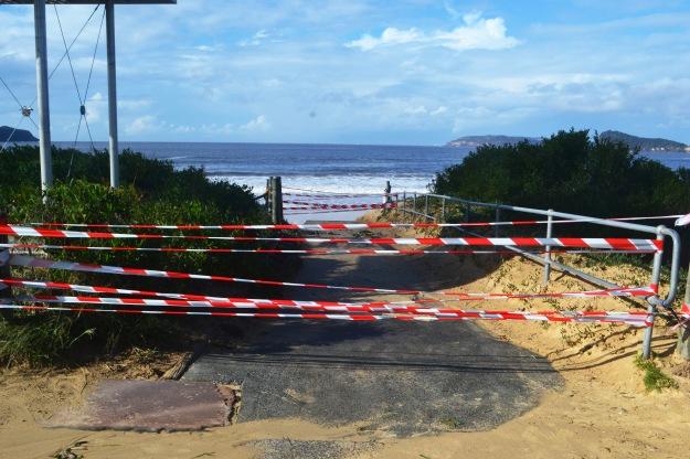 Ocean Beach, Umina after the storms