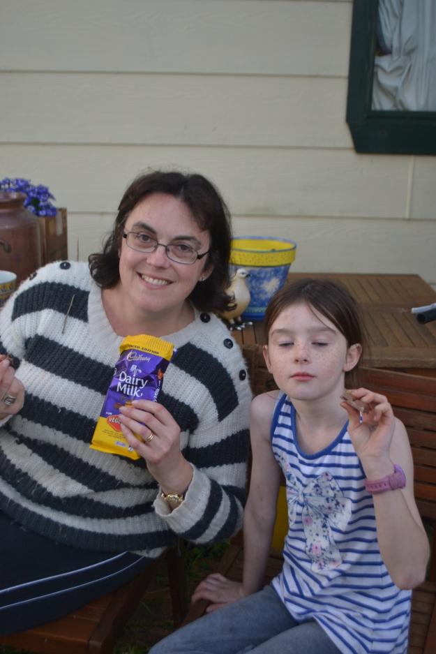 Taste Testing Cadbury's Vegemite Chocolate.