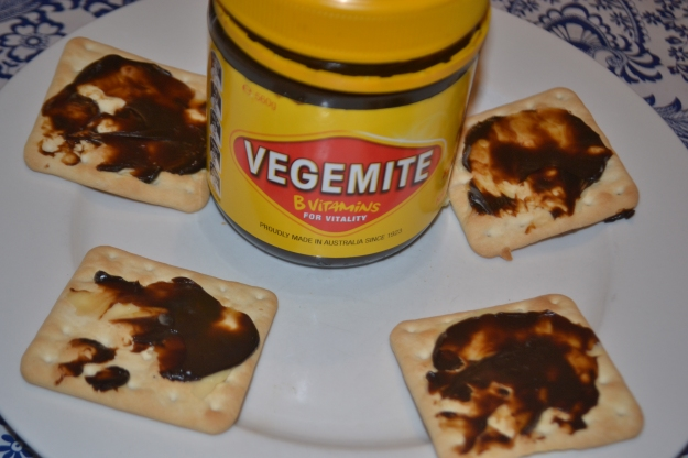 This is how I love my Vegemite. No wonder I couldn't taste it in the chocolate.